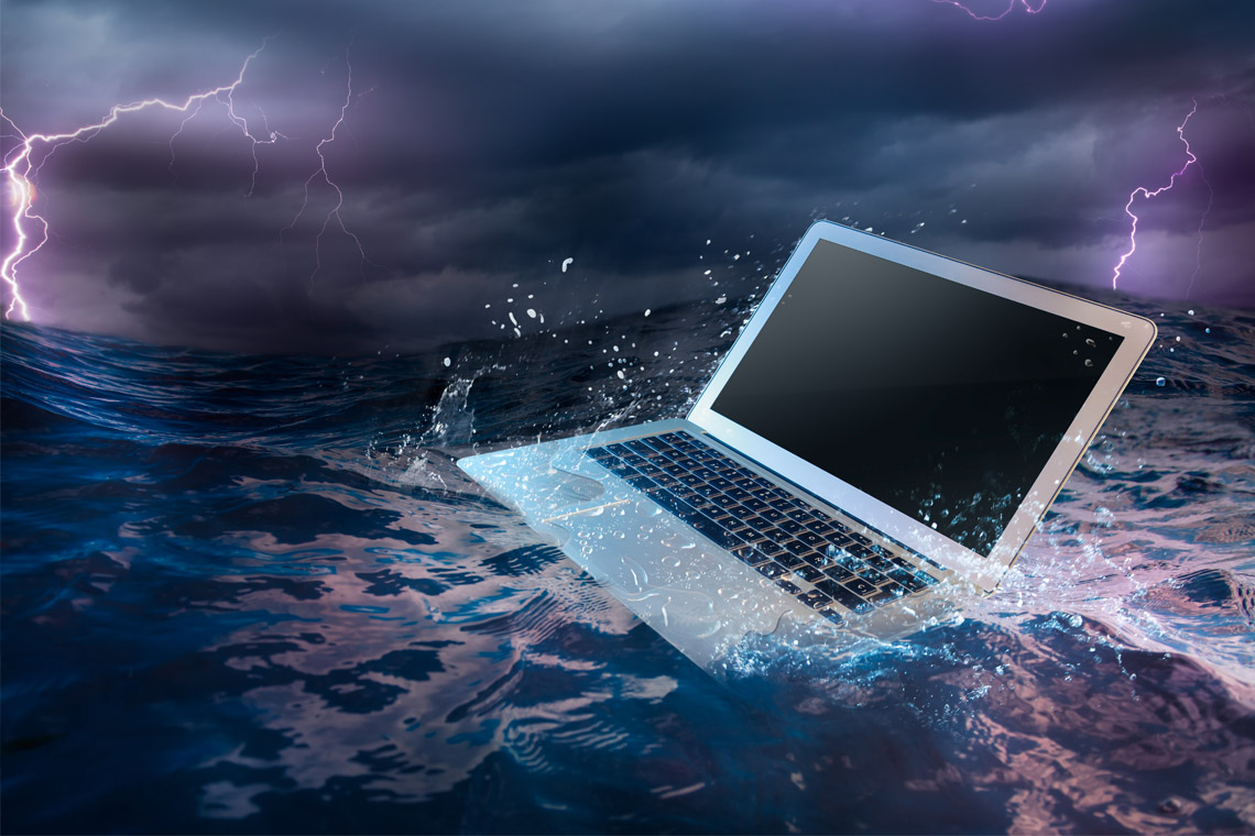 Fearing loss of data in a disaster